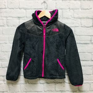 The North Face Girls Fleece Jacket Size Small 7/8